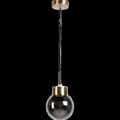 Suspension en laiton et verre D16,5cm-LINJA