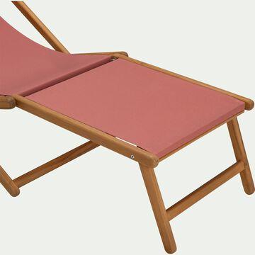 Repose pieds pour chaise udina - rouge ricin-UDINA