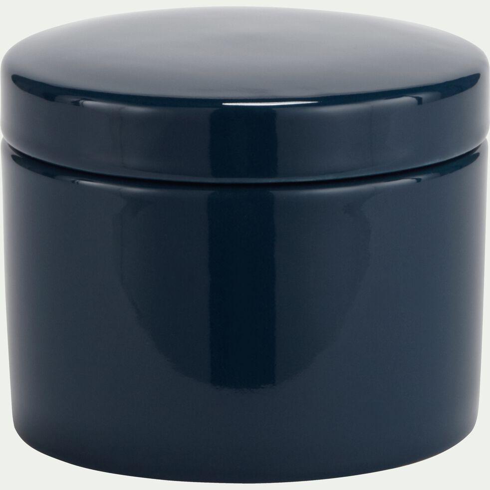 Pot à coton en grès Bleu-PROSPER