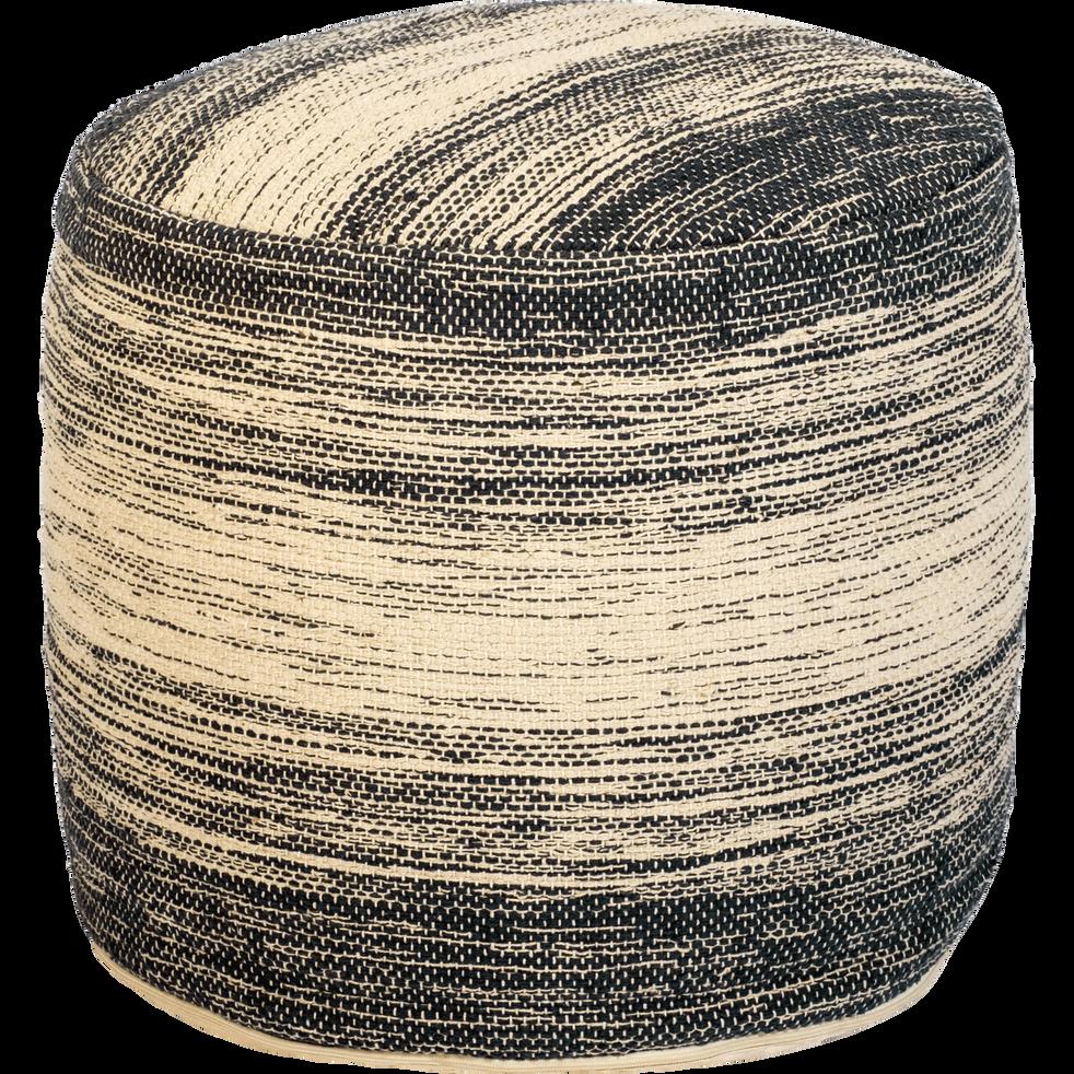 Pouf en coton D50xH45cm-PALOMA