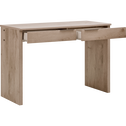 Bureau chêne cendré 2 tiroirs-BROOKLYN