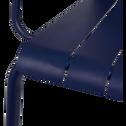 Fauteuil de jardin aluminium bleu indigo-PARADOU