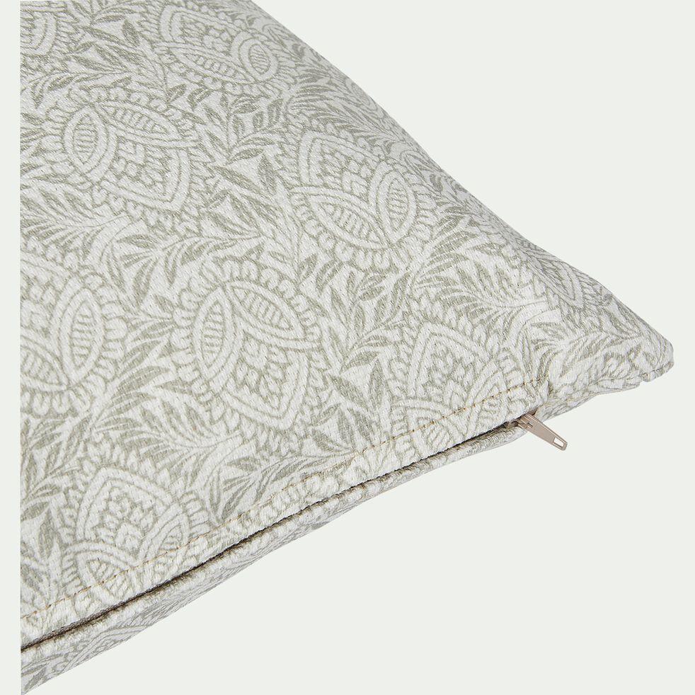Coussin d'extérieur et intérieur déperlant  - blanc ventoux 50x30cm-Trayas