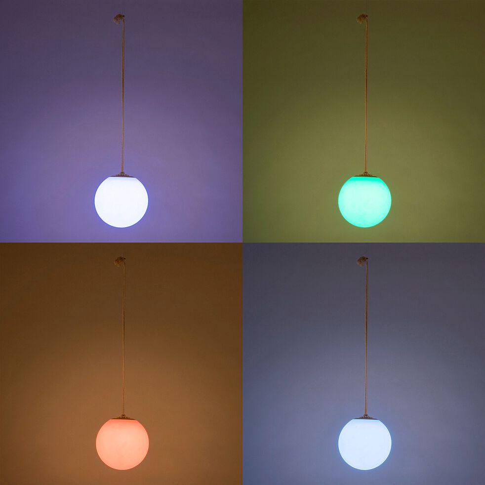 Suspension d'extérieur rechargeable - multicolore H24xD24cm-NORAI