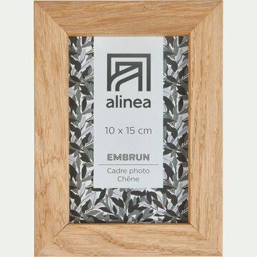Cadre photo en chêne - 10x15 cm-EMBRUN