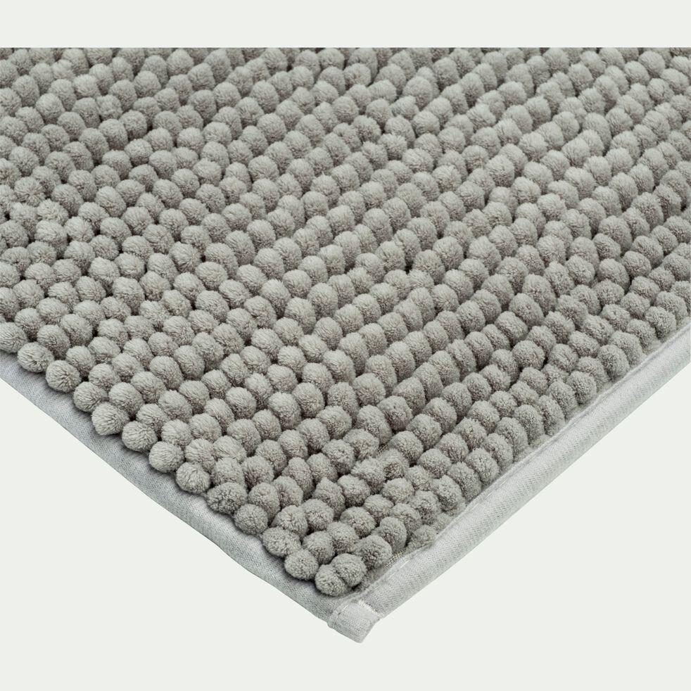 Tapis de bain rectangulaire antidérapant - l50xL80cm vert olivier-Picus