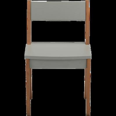 Chaise En Acacia Pour Enfant Vert Olivier RAPHAEL