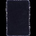 Tapis de bain bleu myrte 50x80cm-PIVOINE