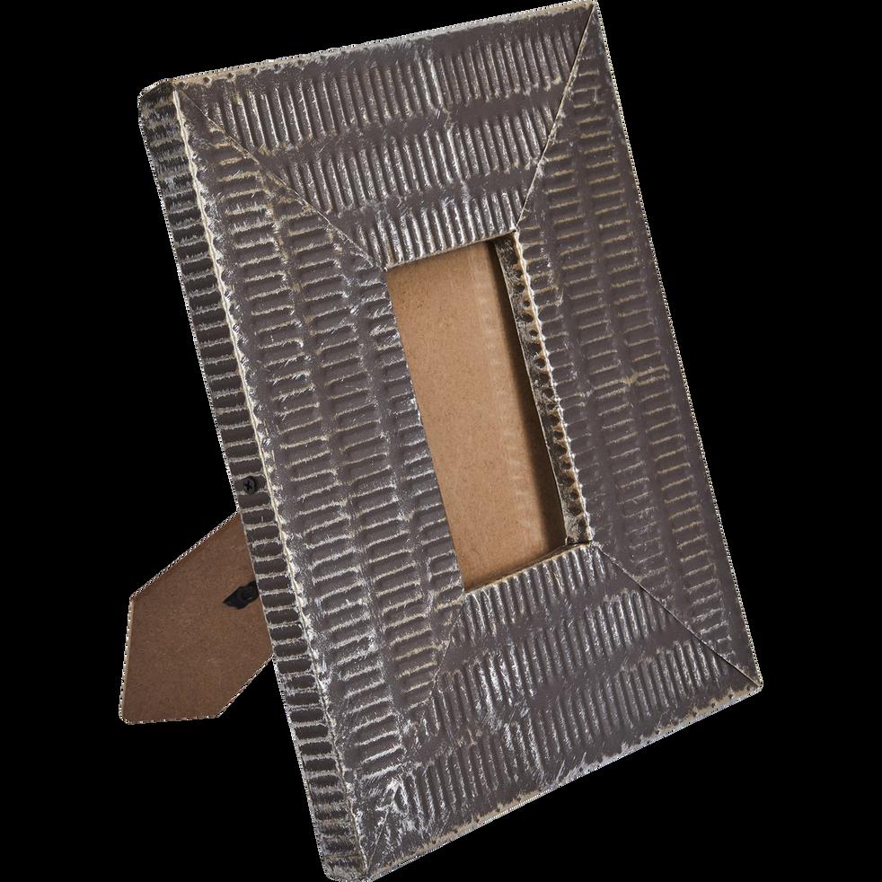 Cadre photo en métal 13x8 cm-ELA