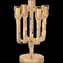 Chandelier en métal doré D15xH36,5cm-ETRETAT