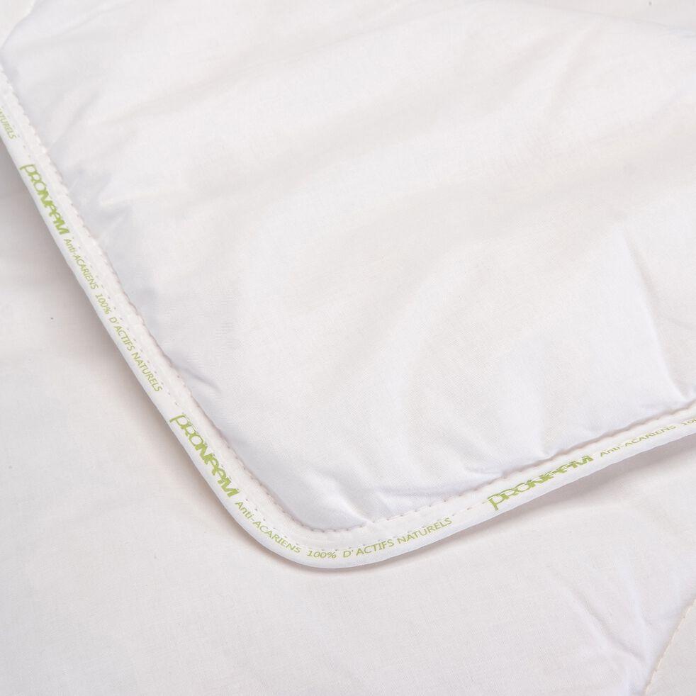 Couette tempérée anti-acarien thermorégulatrice - 240x220cm-CAMILIA