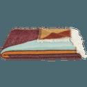 Plaid en coton multicolore 130x170cm-ALBAN