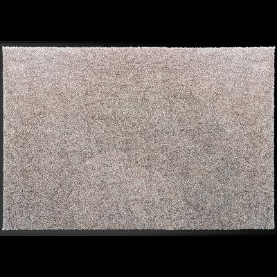 Tapis d'entrée paillasson gris clair 60x90cm-BEN