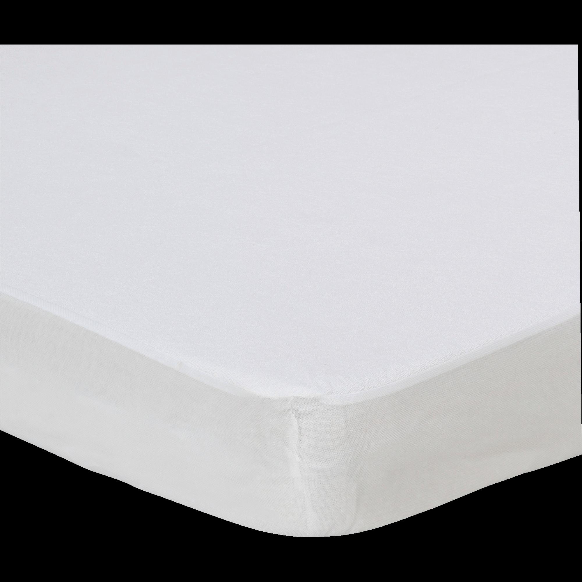 Protège-matelas imperméable en coton 160x2