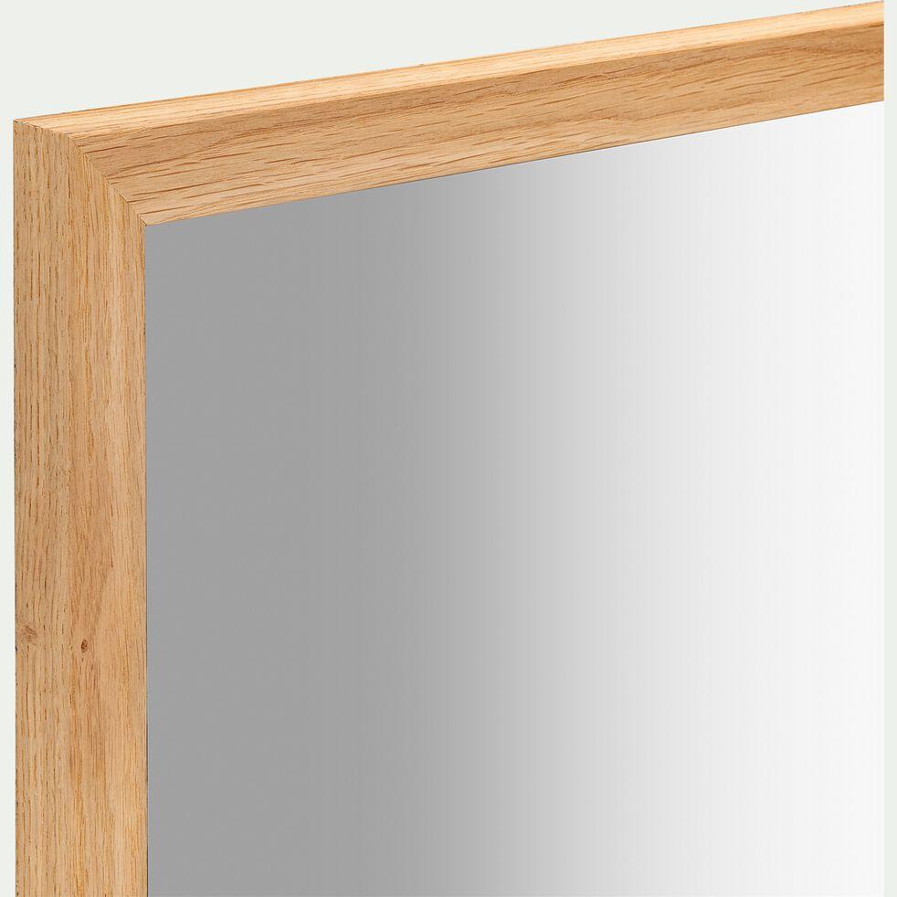 Miroir en bois de chêne - naturel 40x100cm-EMBRUN