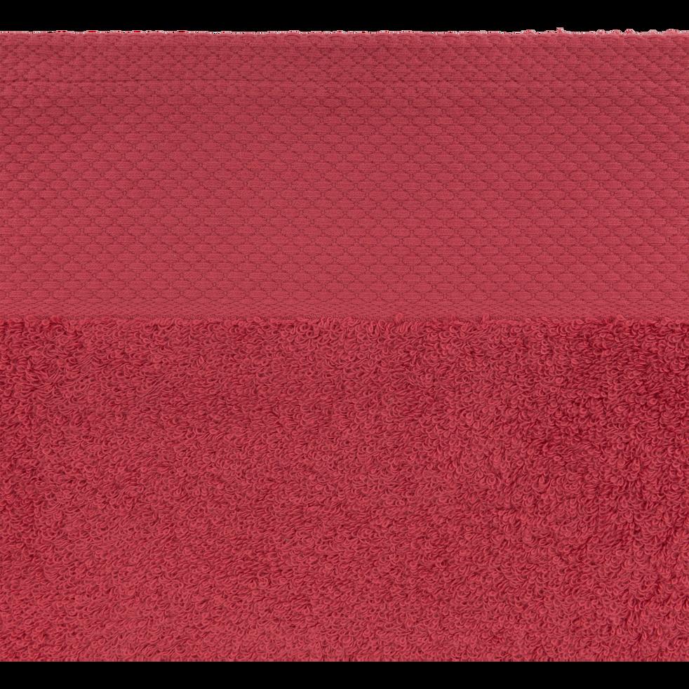 Linge de toilette rouge arbouse-AZUR