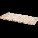 Sommier à lattes déroulable - 90x200cm-ROUSSE