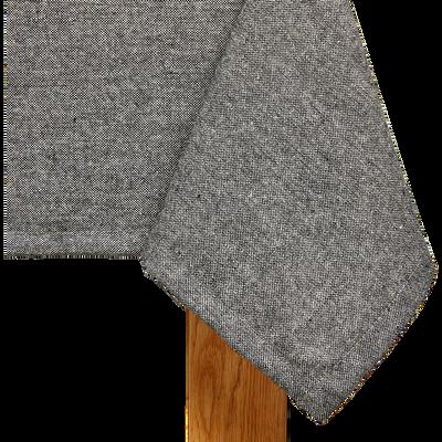 Nappe en polyester gris foncé 140x250cm-GAITE