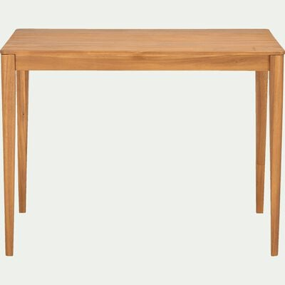 Table haute rectangulaire en acacia - L120xP70xH90cm-UMBRA