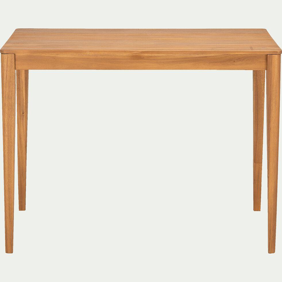 Table haute rectangulaire en acacia - L120xP70xH90cm-UMBRA