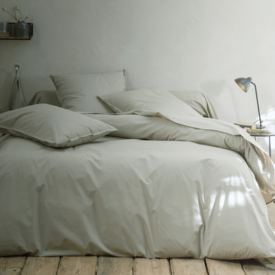 Collection percale Vert olivier-FLORE