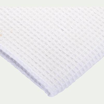 Linge de toilette en coton -blanc-RICIN