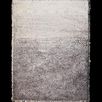 Tapis effet fourrure - gris 120x170cm-mala