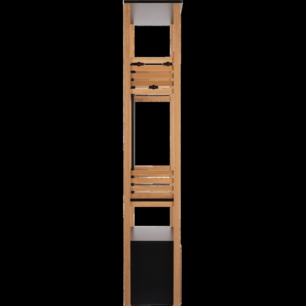 meuble d 39 entr e en ch ne armand meubles chaussures alinea. Black Bedroom Furniture Sets. Home Design Ideas