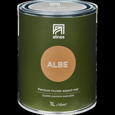Peinture acrylique mate multi-supports 1L brun albe-PEINTURE