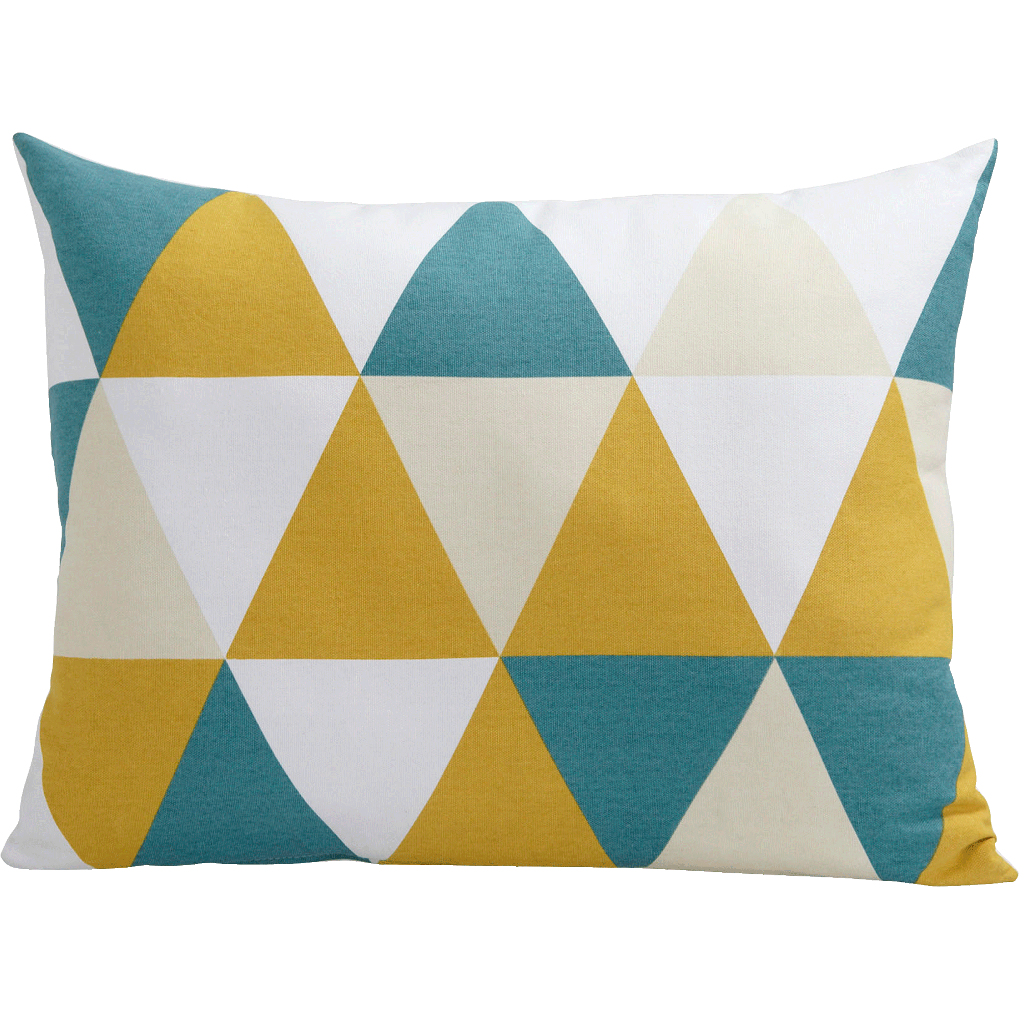 Coussin à motifs triangles 45x60cm - TRIANGLES