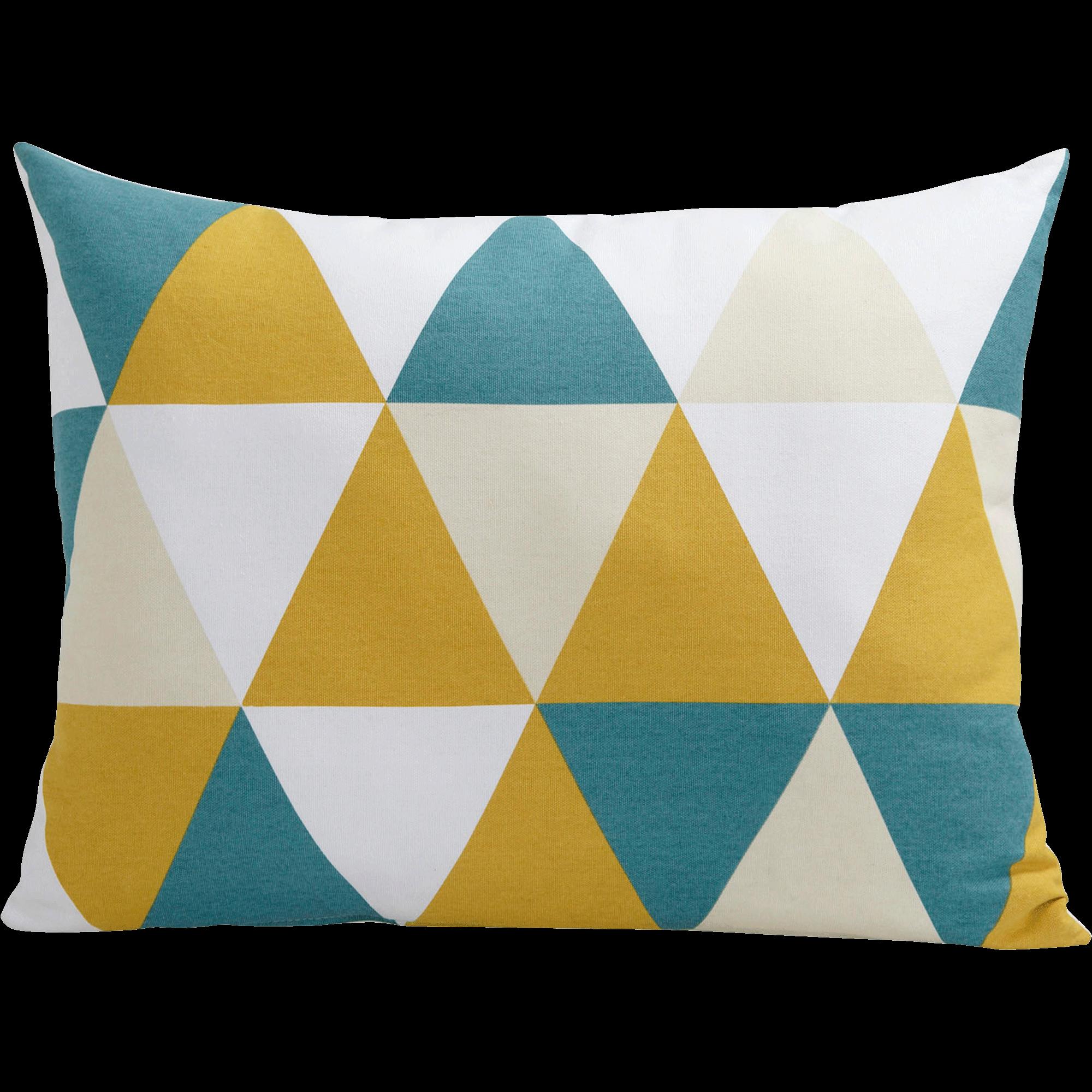 Coussin à motifs triangles 45x60cm - TRIANGLES