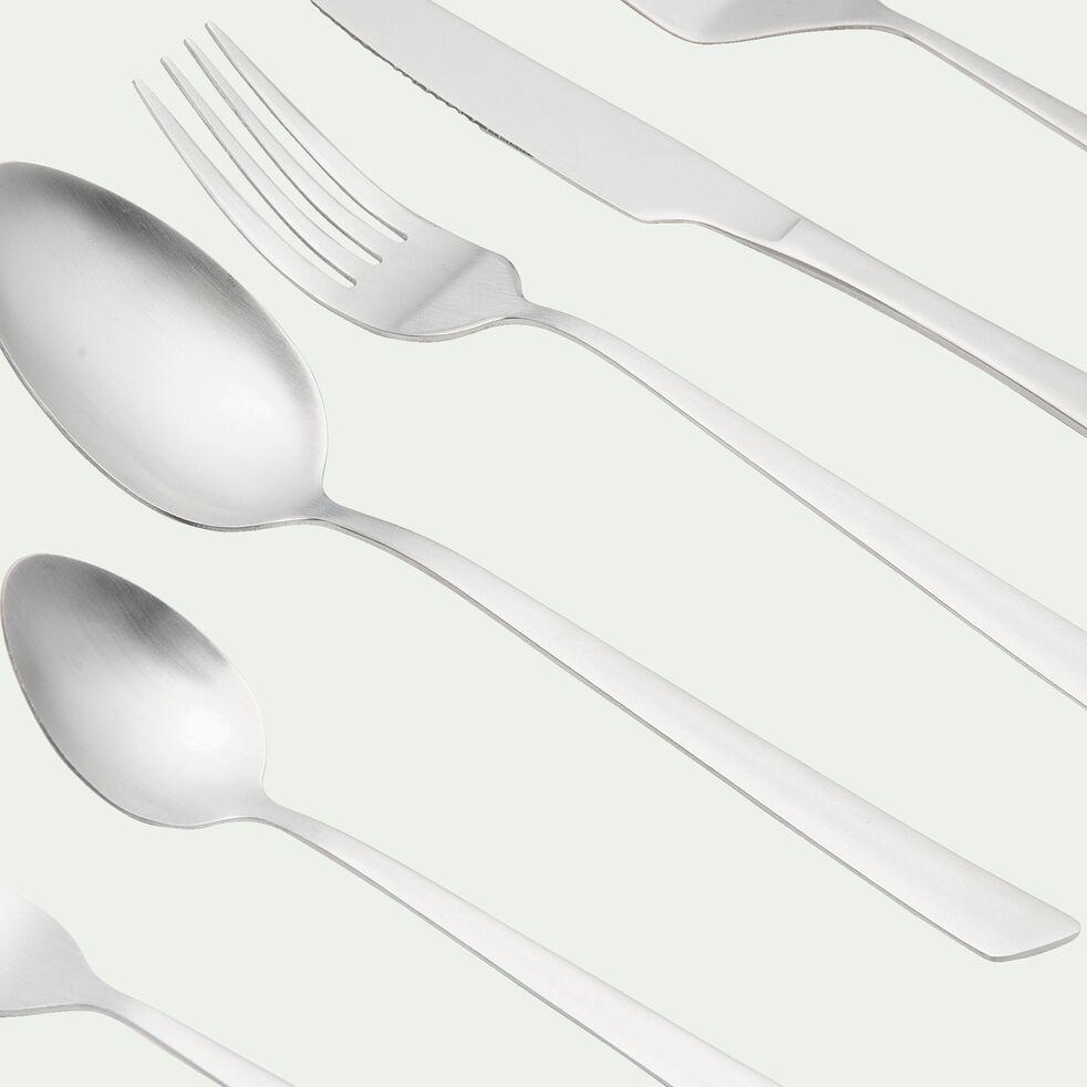 Ménagère 55 pièces en acier inoxydable-DELTA SATIN