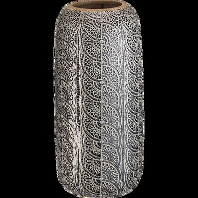 Vase en céramique vert h40cm-LINH