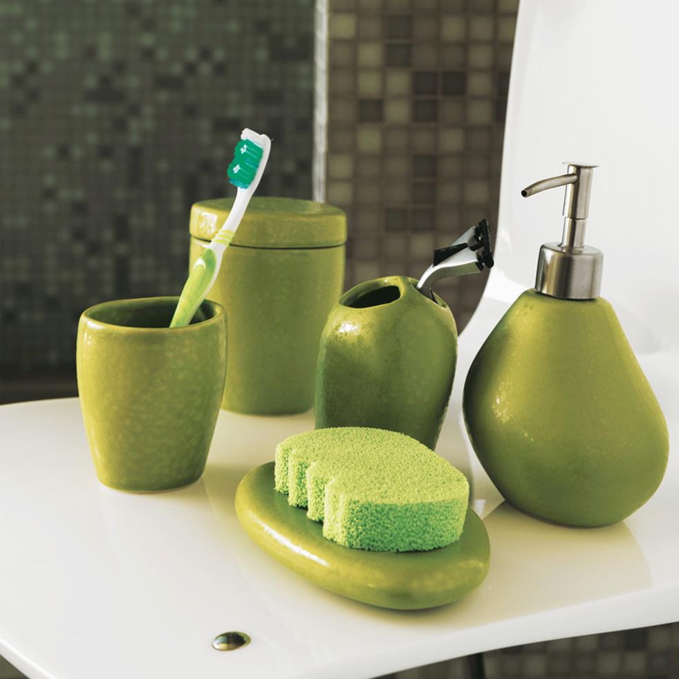 Porte brosse à dents vert-Jarro