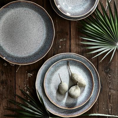 Gamme de vaisselle en grès blanc-PAON