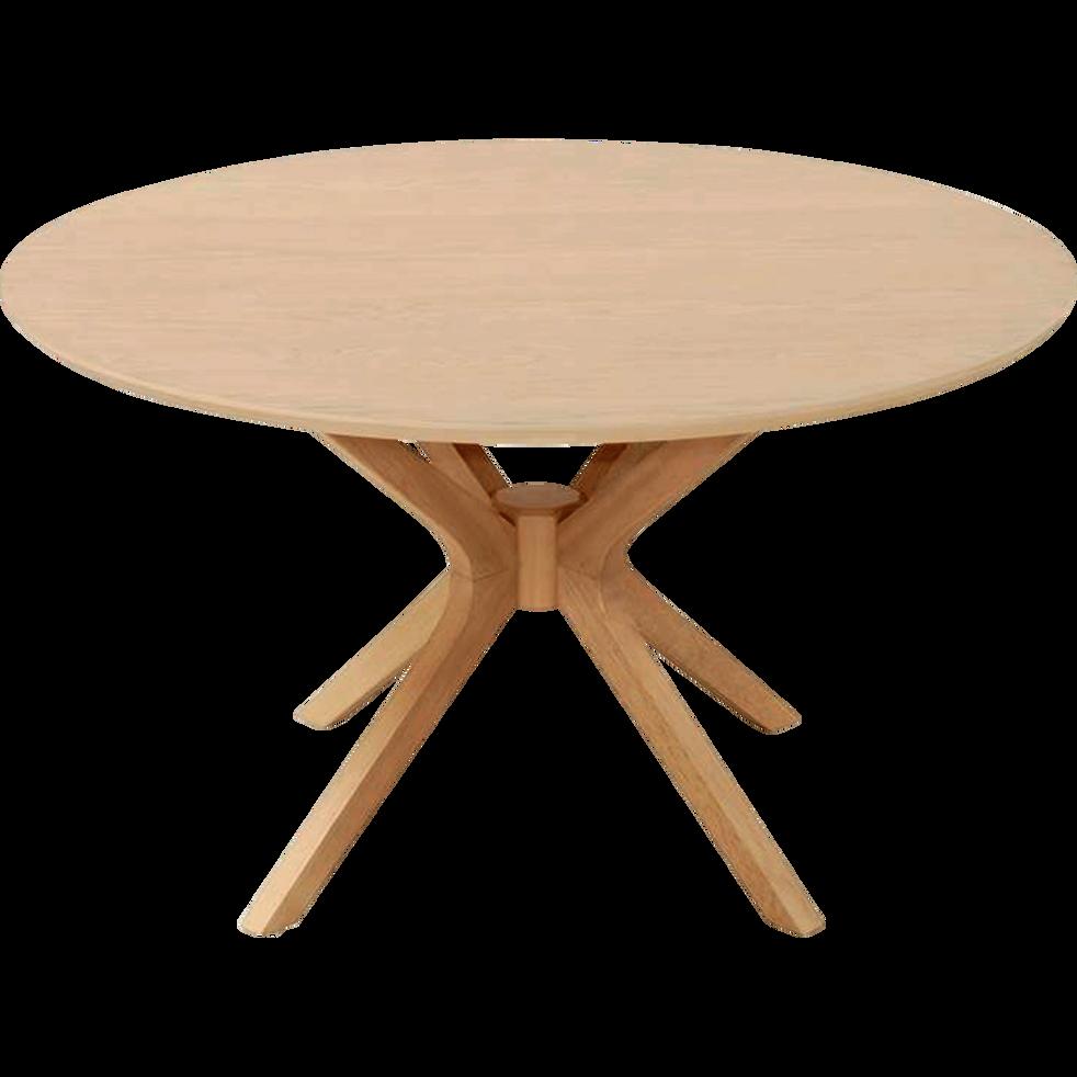 Table Basse Ronde Plaquée Chêne Leandre Tables Basses Alinea