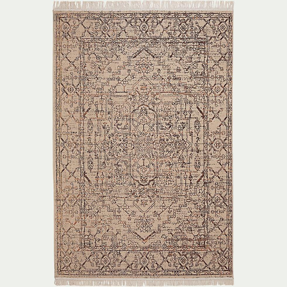Tapis traditionnel mongol - marron 170x120 cm-OURGA