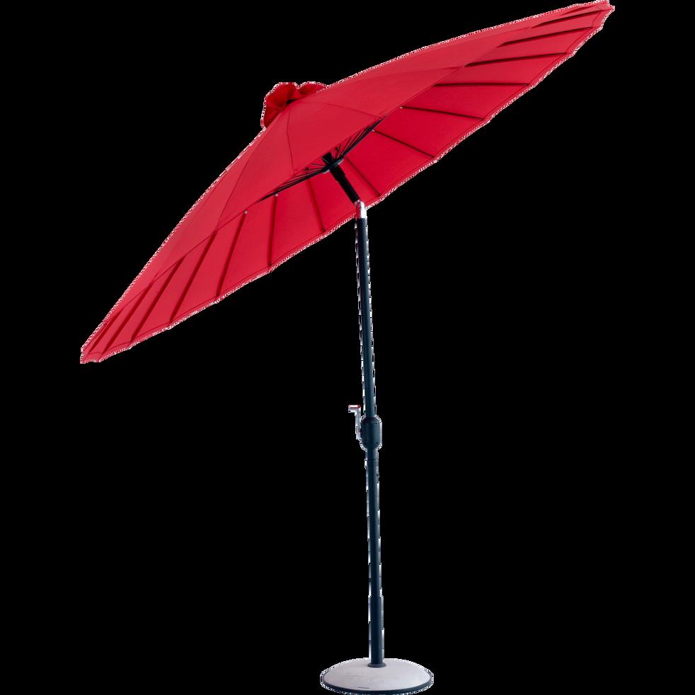 Parasol orientable rouge D270cm-SHANGHAÏ