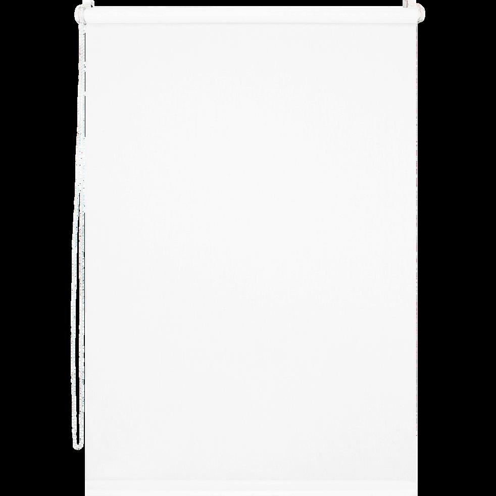Store enrouleur tamisant blanc 66x170cm-EASY TAM