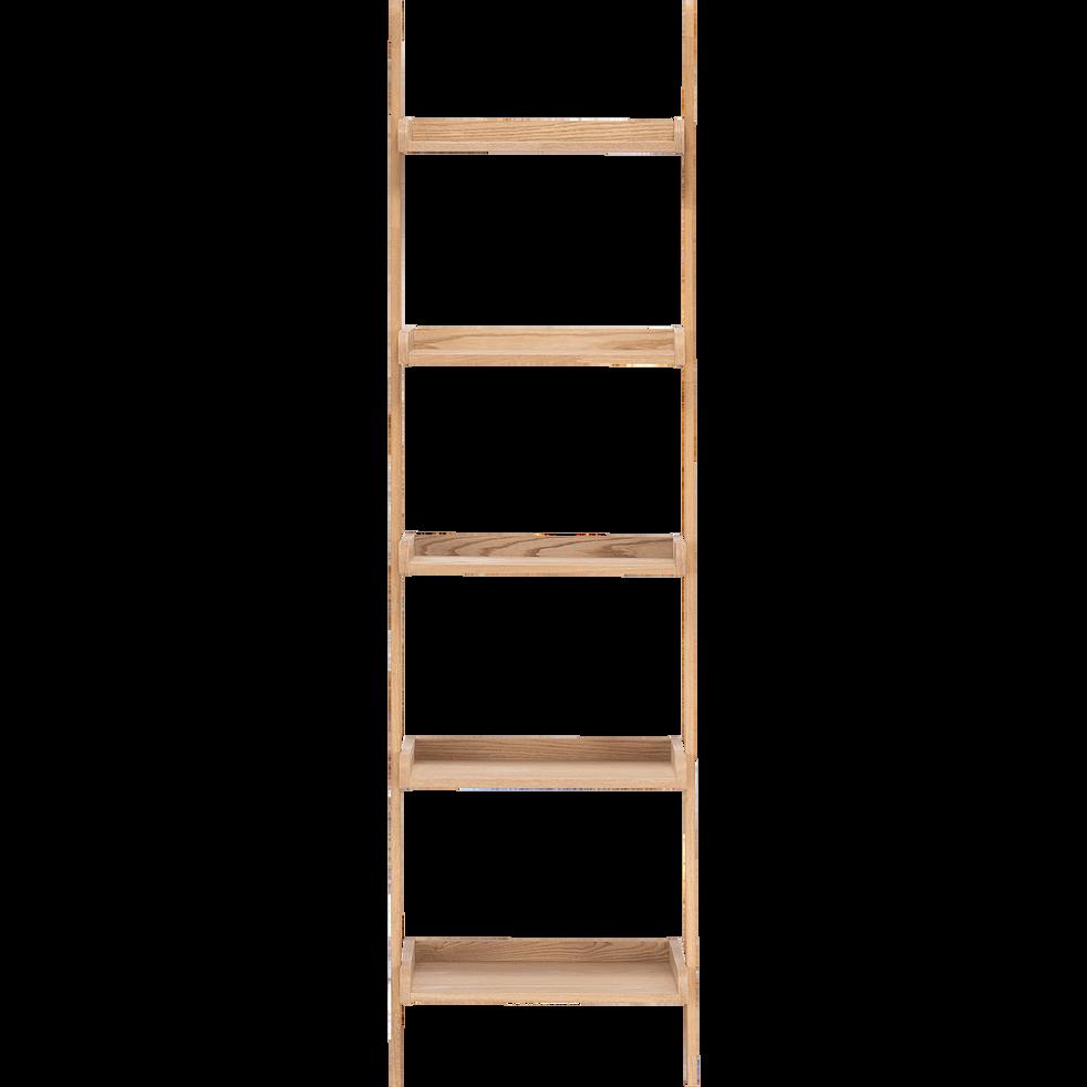 Etagère échelle plaquée frêne L46cm-ESCALO