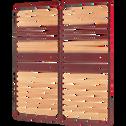 Sommier cadre à lattes Bultex 4 cm - 2x80x200 cm-Morpho