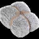 Plaid effet fourrure 130x170cm-Lalou