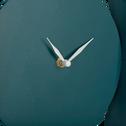 Horloge en métal coloré bleu niolon-Chalcis