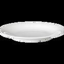 Assiette à dessert en porcelaine qualité hôtelière D21cm-ETO