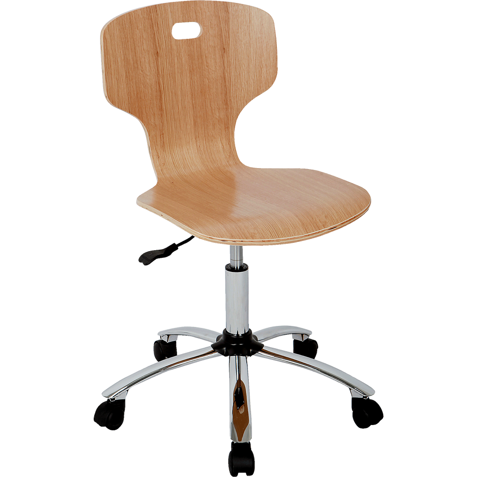 Chaise de bureau enfant finition érable-STAR