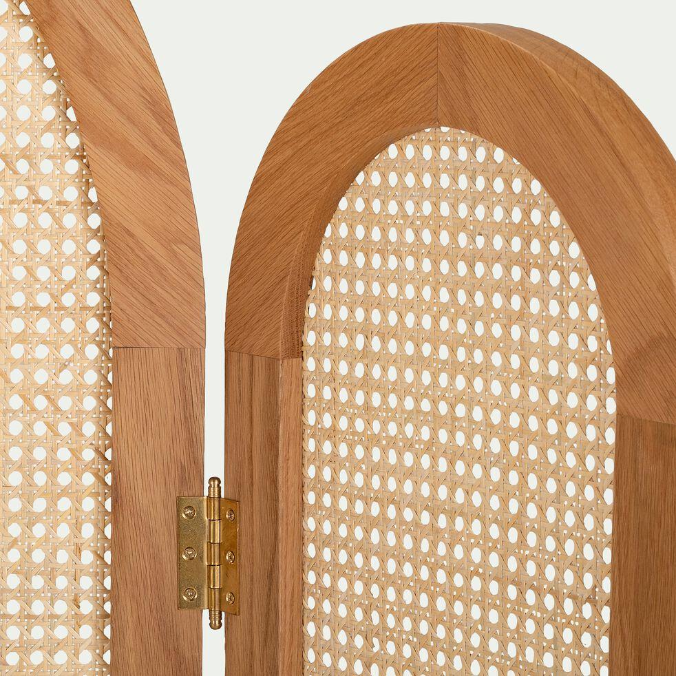 Tête de lit paravent en bois - H161,5xL244cm-ENTRE LES LIGNES
