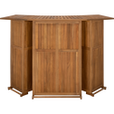 Set bar et tabourets en acacia-ARONA