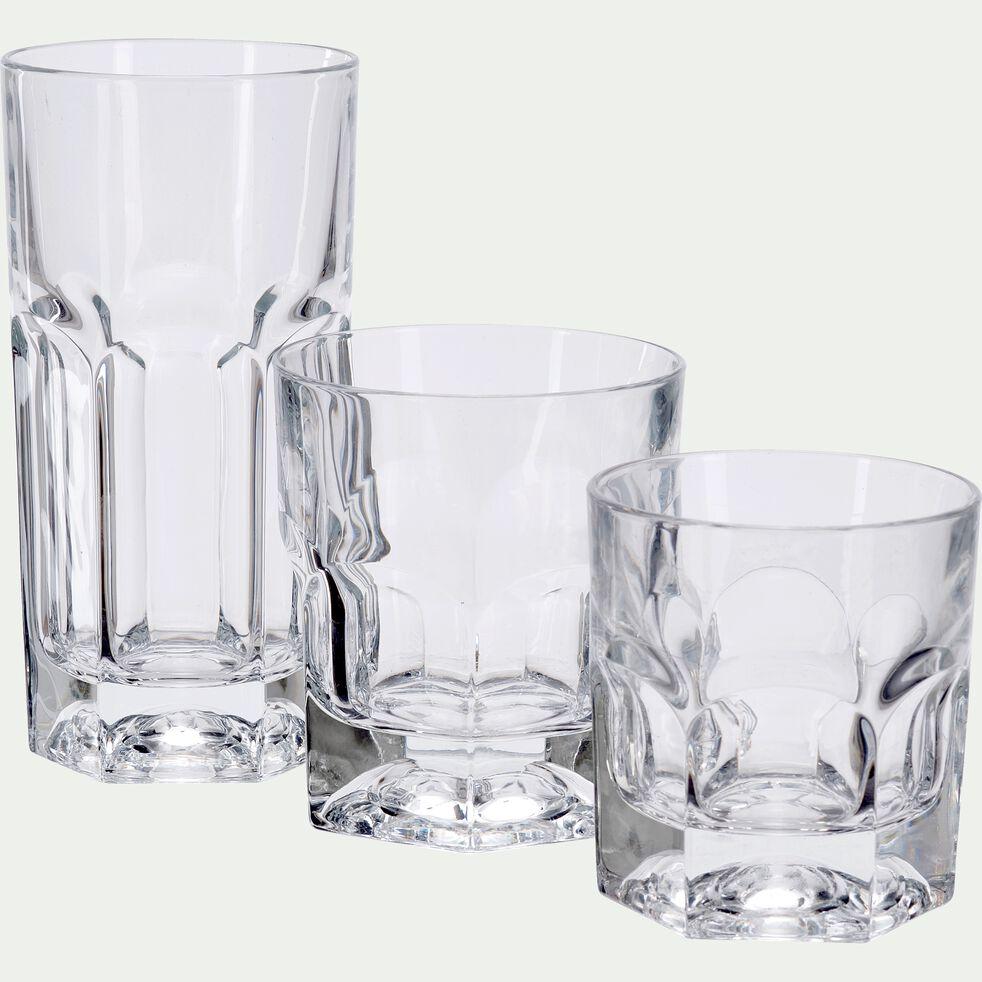 Verre transparent en verre 18,5cl-PROVENZA