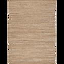 Tapis tissé en jute et coton recyclé 160x230cm-ADAM
