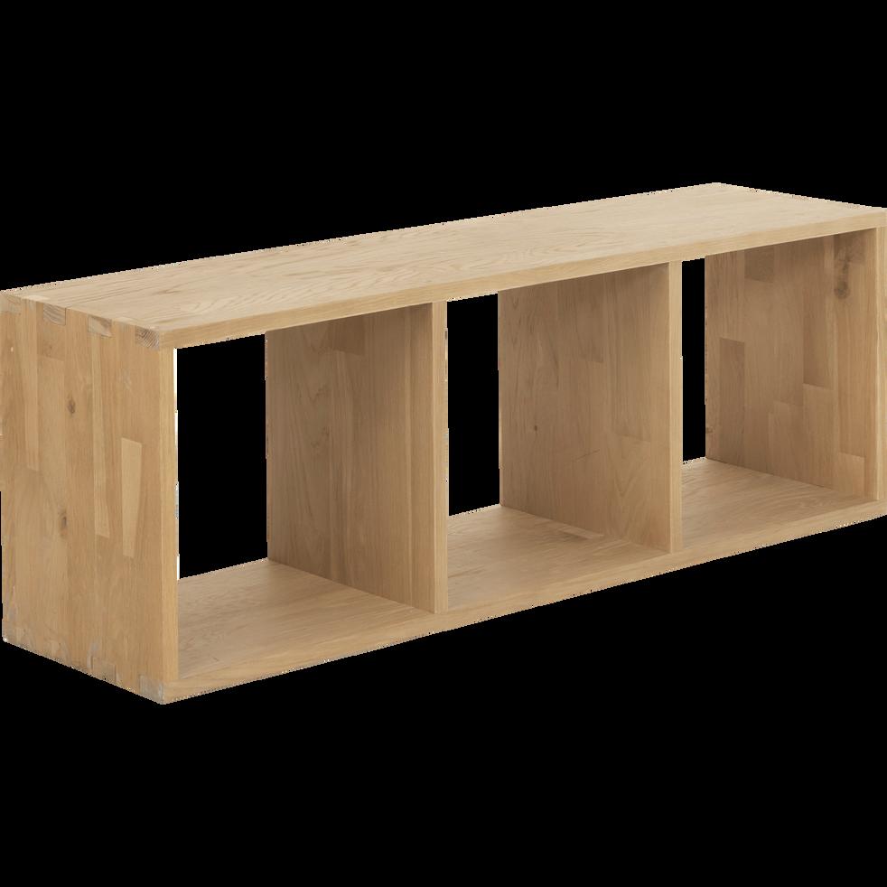 tag re 3 cases en ch ne tassia biblioth ques et tag res alinea. Black Bedroom Furniture Sets. Home Design Ideas